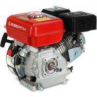6,5 HP 4,8 kW motore a benzina (19,05mm Ø albero con filettatura esterna, protezione da carenza dolio, 1 cilindro, 196cc capacità cubica, 4 tempi,