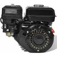 6.5HP 4.8kW Black Petrol Engine QAH03886 - HOMMOO