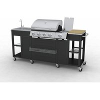 66cm Blountsville Portable Electric Barbecue by Dakota Fields - Black