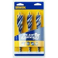 Blue Groove Wood Drill Bit Set 3 Piece 20-25mm - Irwin