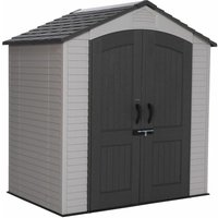 7 x 4.5 Life Plus Plastic Apex Shed With Plastic Floor (2.15m x 1.42m) - SALFORD PLASTIC SHEDS