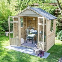 7 x 5 Pressure Treated Overlap Summerhouse (219cm x 146cm) (CORE)