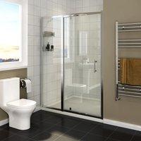 700mm Pivot Hinge Shower Door 6mm Safety Glass Reversible Shower Enclosure Cubicle