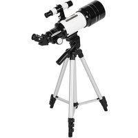 70mm Astronomical Telescope 150X High Power Monocular Telescope Refractor Spotting Scope with 5