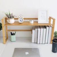 76 cm Enlarged Table Desktop Storage Rack Book Magazine Desk Shelf Organiser