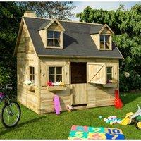Cheshire Playhouses(r) - 8 7 x 6 Cottage Playhouse (2.63m X 1.85m)