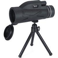 80x100 Monocular telescope + tripod Sasicare