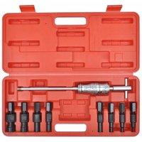 9 pcs Blind Hole Bearing Puller Tool Set QAH07780