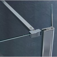 970 mm Shower Wall To Glass Support Bar Arm - NESHOME