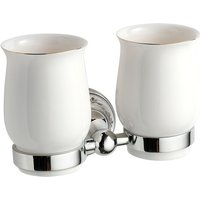 Abacus Essentials Classic Double Tumbler Holder and Cups ATAC-BX12-3204
