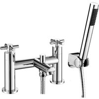 Wentworth Bathrooms - Acel Chrome Bath Shower Mixer and Shower Kit