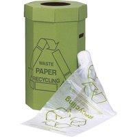 Acorn Green Bin Liner Clear/Printed (Pk-50) - ZORO SELECT