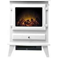 Adam Hudson Electric Stove in Textured White