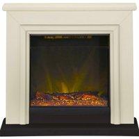 Adam Kensington Surround Fireplace Stove Fire Heater Heating Suite Flame Stone - ADAM FIRES