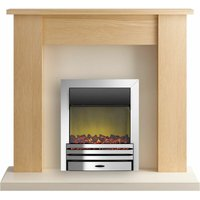 Adam New England Surround Fireplace Stove Fire Heater Heating Suite Flame Coal
