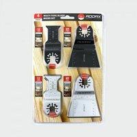 MT4PSET Multi Tool Blades 4 pcs Set - Addax