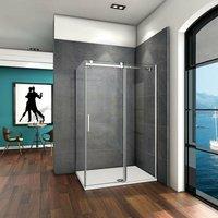 100x70x195cm AICA Sliding Shower Enclosure 6mm Safety Glass