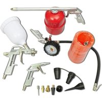 Air Tool Set Kit Spray Paint Gun for Compressor VD03490