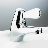 AKW TMV3 Thermostatic Basin Mixer Tap - Chrome