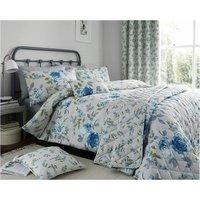 Floral Duvet Colette Blue Single Duvet Cover - Alan Symonds