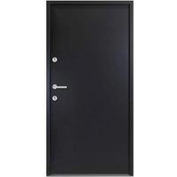 Aluminium Front Door Anthracite 110x207.5 cm - Anthracite - Vidaxl
