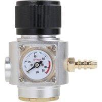 Asupermall - Aluminium Mini CO2 Regulator CO2 Charger Kit 0-90 PSI Beer Keg Charger Adapter,model:Multicolor