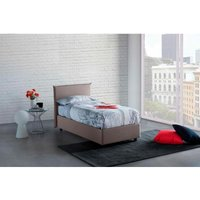 Anna Single Bed Container with Removable Side Opening Made in Italy Turtledove - TALAMO ITALIA