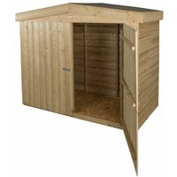 Apex Large Outdoor Store - Pressure Treated (2m x 0.8m) - WORCESTER