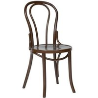 Apone Side Chair - Walnut Frame Bentwood Style Fully Assembled Walnut Beech Wood - NETFURNITURE