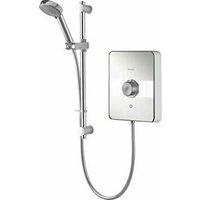 Lumi Electric Shower 10.5kw White / Chrome - LME10521 - Aqualisa