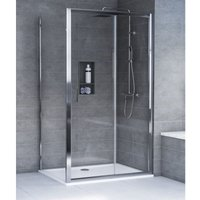 HD8 KIT 8mm Sliding Door + Side Panel 1600 x 900mm - Aqualux