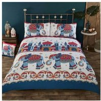 Arabian Nights Duvet Set, Multi, 1 x Double-200 x 200 2 x Pillow Case - RAPPORT