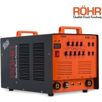 WSME-200 - ARC TIG Welder Inverter MMA Gas / Gasless 240V 200amp DC 4 in 1 Machine - Röhr