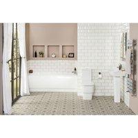 Aria Bathroom Suite with 1700mm Bath - AQUARISS