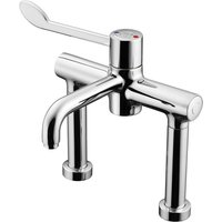 Markwik Pillar Mounted Mixer Tap Lever Operated Sequential Thermostatic - Armitage Shanks