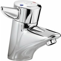 Nuastyle Thermostatic Basin Mixer Tap - Chrome - Armitage Shanks