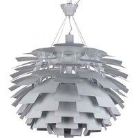 artichoke lamp Poul Henningsen steel White - PRIVATEFLOOR