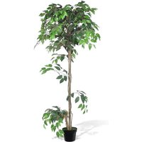 Artificial Plant Ficus Tree with Pot 160 cm - Green