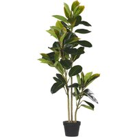 Artificial Potted Plant 134 cm FICUS - BELIANI