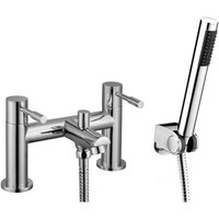 Wentworth Bathrooms - Aspen Chrome Bath Shower Mixer and Shower Kit