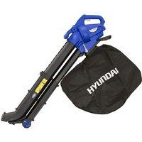 Aspiratore soffiatore elettrico 35810 per foglie 2 tempi trituratore gy8 - Hyundai