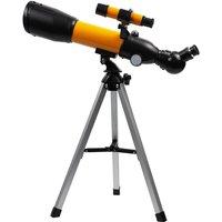 Astronomical Telescope 90X HD Monocular Telescope Refractor Spotting Scope Beginner Kids Telescope with 5