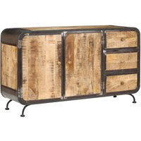 Atherton Solid Mango Wood Sideboard by Bloomsbury Market - Brown