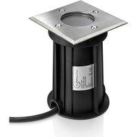 Auraglow Deep Recessed GU10 Holder Garden Ground Path Deck Light IP67 Driveway Outdoor Uplighter