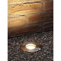 Deep Recessed GU10 Holder Garden Ground Path Deck Light IP67 Driveway Outdoor Uplighter - Auraglow