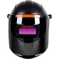 Auto-darkening welder welding mask, head-mounted anti-glare protective mask, black