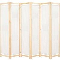 Avila Room Divider by August Grove - Cream