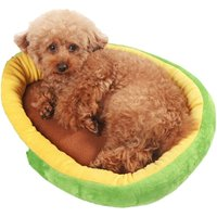 Avocado Pet Puppy Cat Dog House Warm Bed Nest Mat Cushion - LIVINGANDHOME