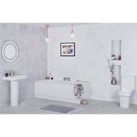 Avola Bathroom Suite with 1700mm Bath