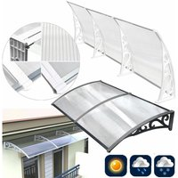 Awning Shelter Front and Back Window Canopies - 120*75
